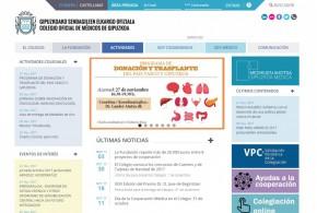 Colegio de Médicos de Gipuzkoa - Nueva web