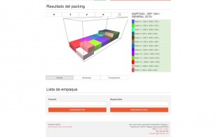 Embalan3. Software web bin-packing